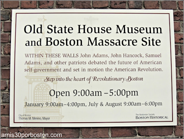 Museo del Old State House en Boston
