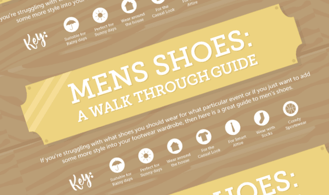 Men's Shoes: A Walk Through Guide