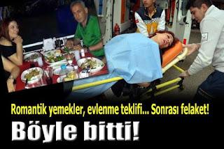 Adanada Ayrılmak isteyen sevgilisini sokak ortasında vurdu