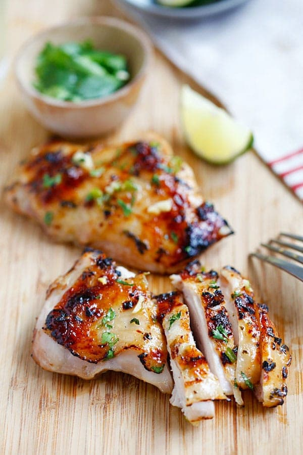 The Best Chili Lime Chicken