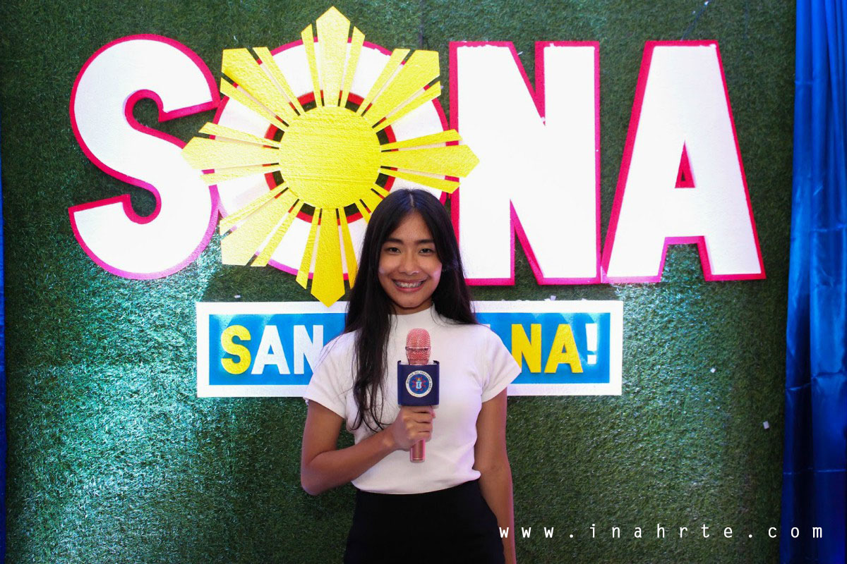 SONA Birthday Party Theme | News Reporter
