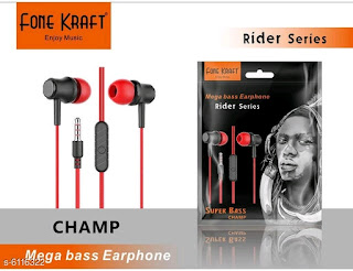 Fone Kraft Android Wired Earphone With Mic