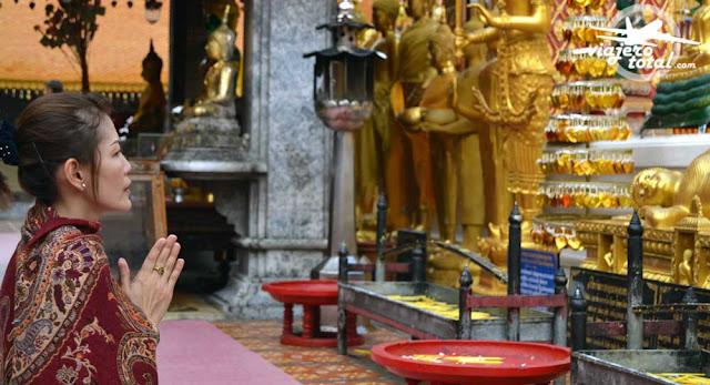 Templo de Chiang Mai, Tailandia