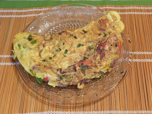 Omelette à la mexicaine