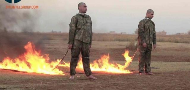 Estado Islâmico prisioneiros