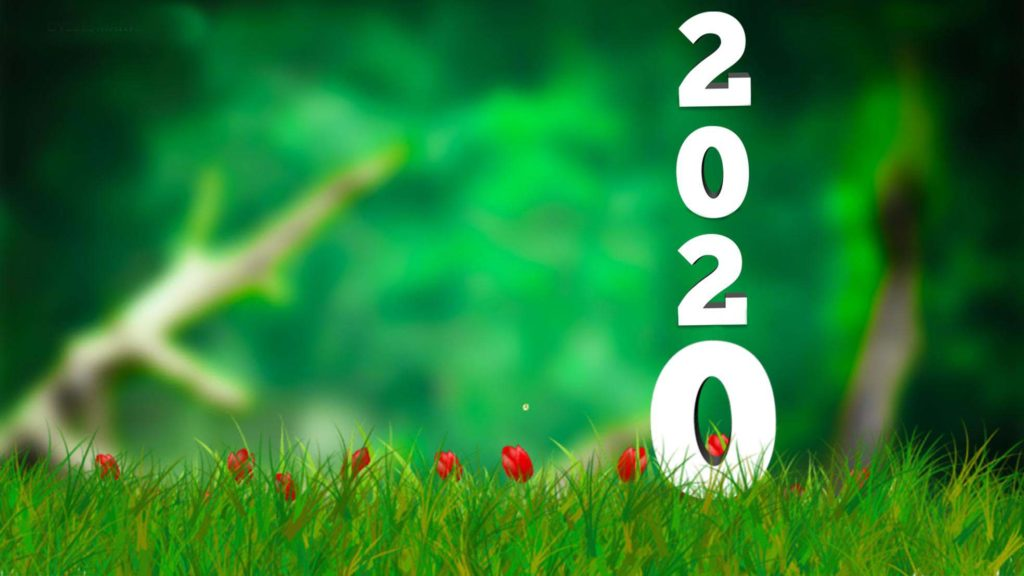 Happy new year 2020 picsart background download