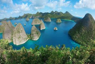 Kepulauan Raja Ampat di Papua