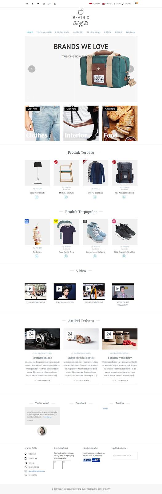 Bikin Website .com & Toko Online - 1