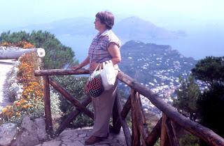 Janet on Monte Solara, Capri