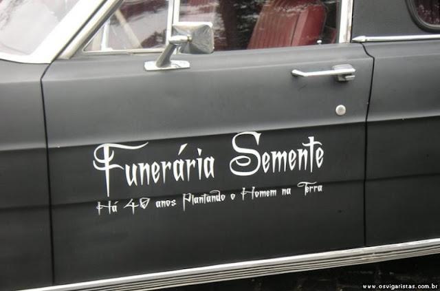 Resultado de imagem para nomes de funerarias estranhos