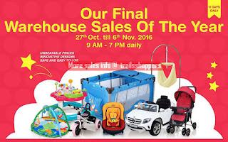 My Dear Final Warehouse Sale of The Year 2016