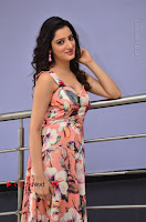 Actress Richa Panai Pos in Sleeveless Floral Long Dress at Rakshaka Batudu Movie Pre Release Function  0080.JPG