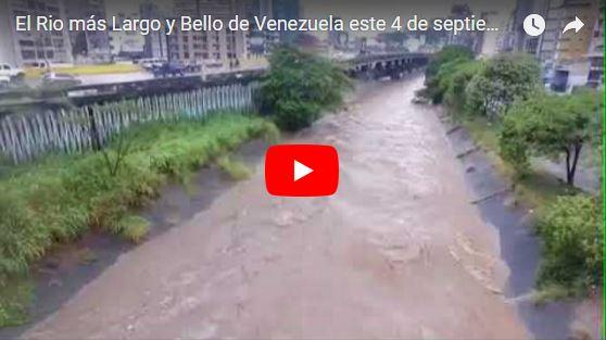 Sin un huracán caracas quedó inundada este 4 de septiembre