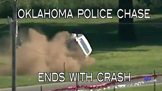 Oklahoma Police Chase Ends With Crash