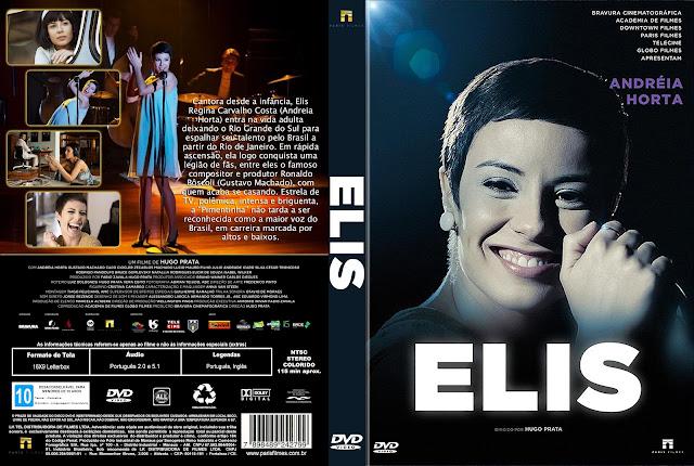 Capa DVD Elis