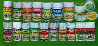 Produk Obat Herbal De Nature
