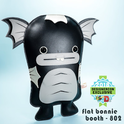 Designer Con 2018 Exclusive Dobichan Monochrome Edition Plush by Flat Bonnie