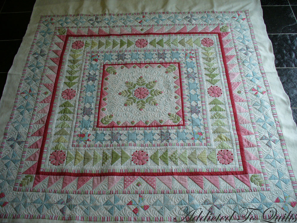 Addicted To Quilts Medallion Quilt