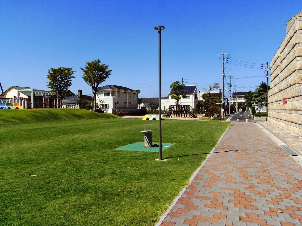 西町緑地(鳥取県鳥取市)