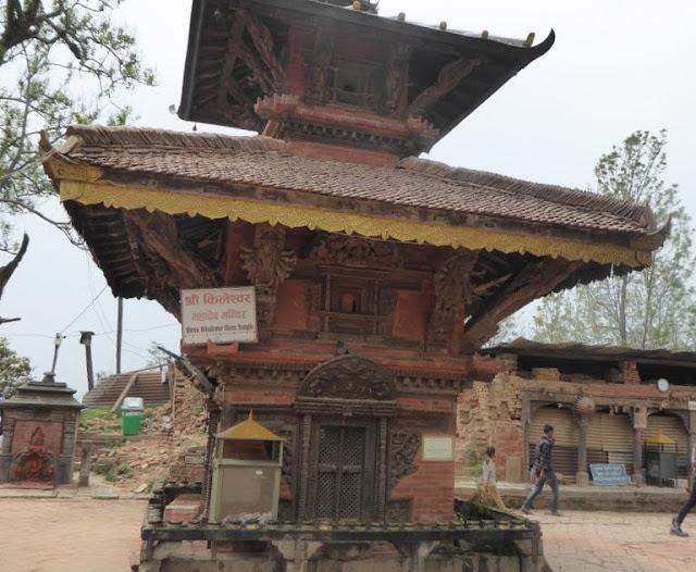 tempio di Kileshwor a Changu Narayan