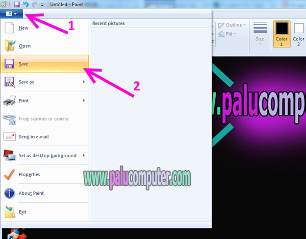 how to take print screen in laptop
