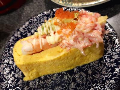 Tamago Sushi at Heiroku Sushi Omotesando Japan