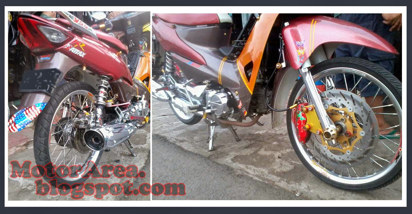 Koleksi Foto Modifikasi Motor Supra Fit New Terbaru Modispik Motor