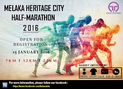 Melaka Heritage City Half Marathons collection time