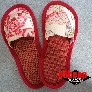 DIY Slippers by eSheep Designs