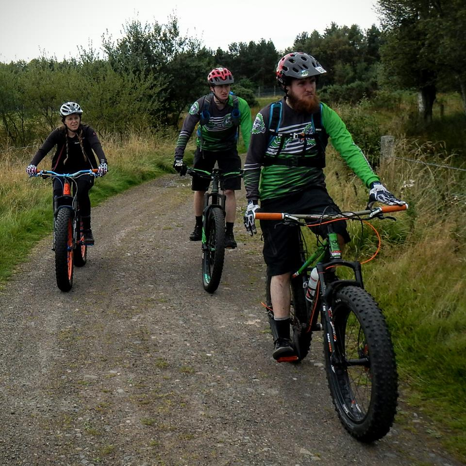 Craig took the following pics. & coastrider: Angus Cycling Festival Fatbike ride; Tentsmuir Forest ...