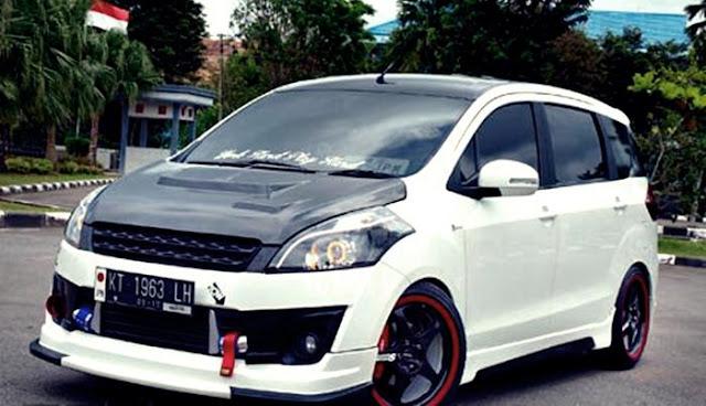 Cara Modifikas Mobil Suzuki Ertiga Sporty dan Elegant