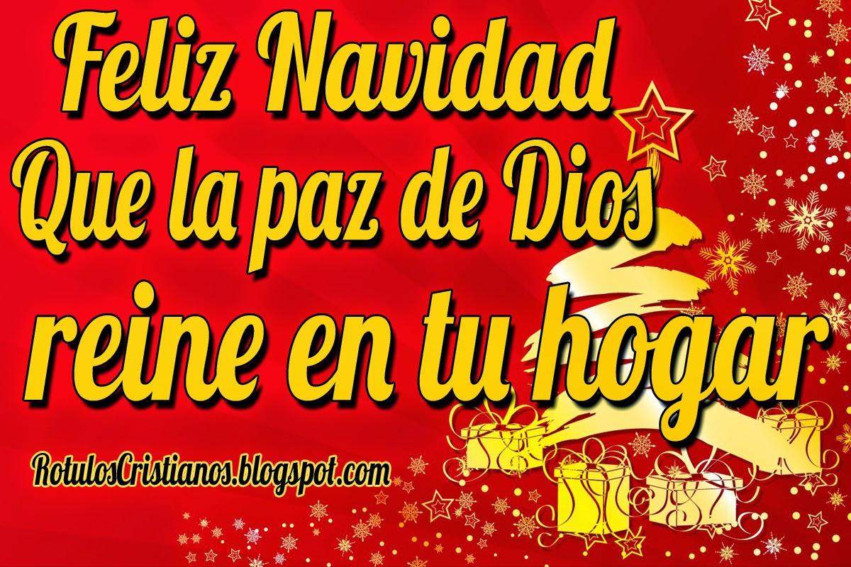 Feliz Navidad Rotulos.Feliz Navidad Que La Paz De Dios Reine En Tu Hogar