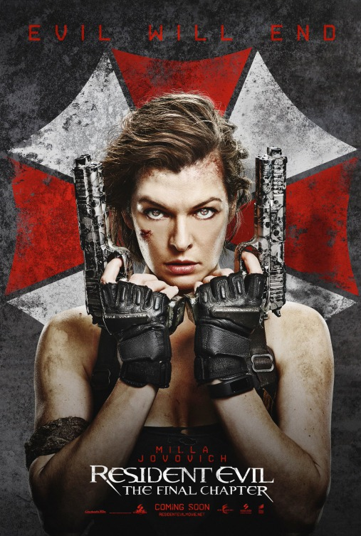 Resident Evil The Final Chapter 2017 English 700MB