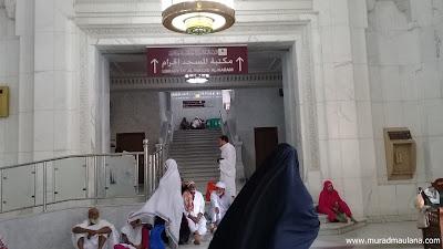 Papan Petunjuk Perpustakaan Masjidil Haram