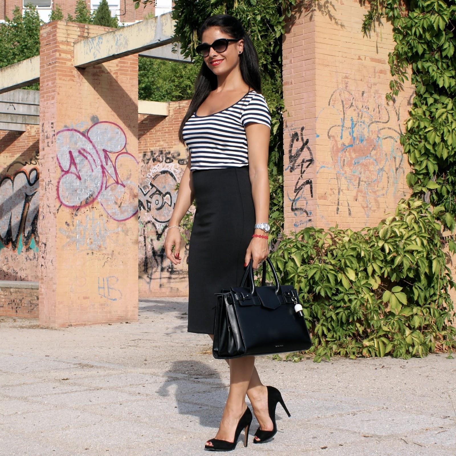 La Caprichossa - Mi Diario Runner - Blog de moda, belleza, tendencias y running: Falda de tubo y ...