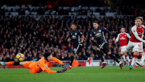 Arsenal vs Manchester United 1-3 Video Gol & Highlights
