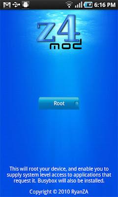 Aplikasi Z4root