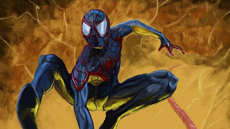 Miles Morales, Spider-Man, Comics, Art, 4K, #6.2145