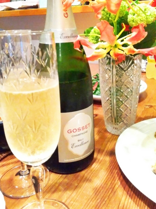 Gosset Excellence Brut : ゴッセ エクセレンス ブリュット
