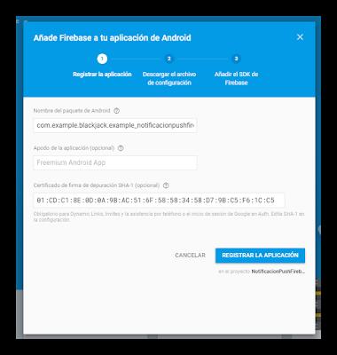 Android Studio - Notificaciones Firebase