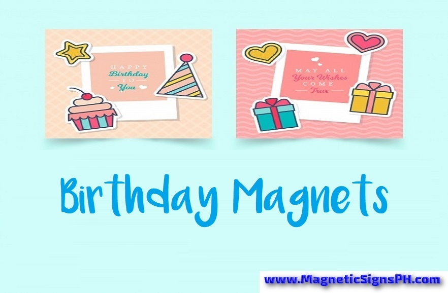 Personalized Birthday Magnets