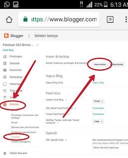 Cara Copy Semua Artikel Blog Orang Lain