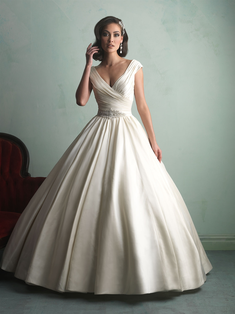 Allure Bridals Princess Big Ball Gowns | fashionable wedding gowns
