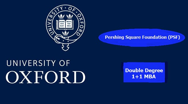 Double Degree 1+1 MBA Oxford of University