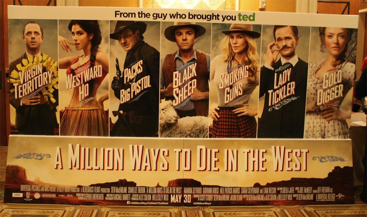 A Million Ways To Die In The West Online