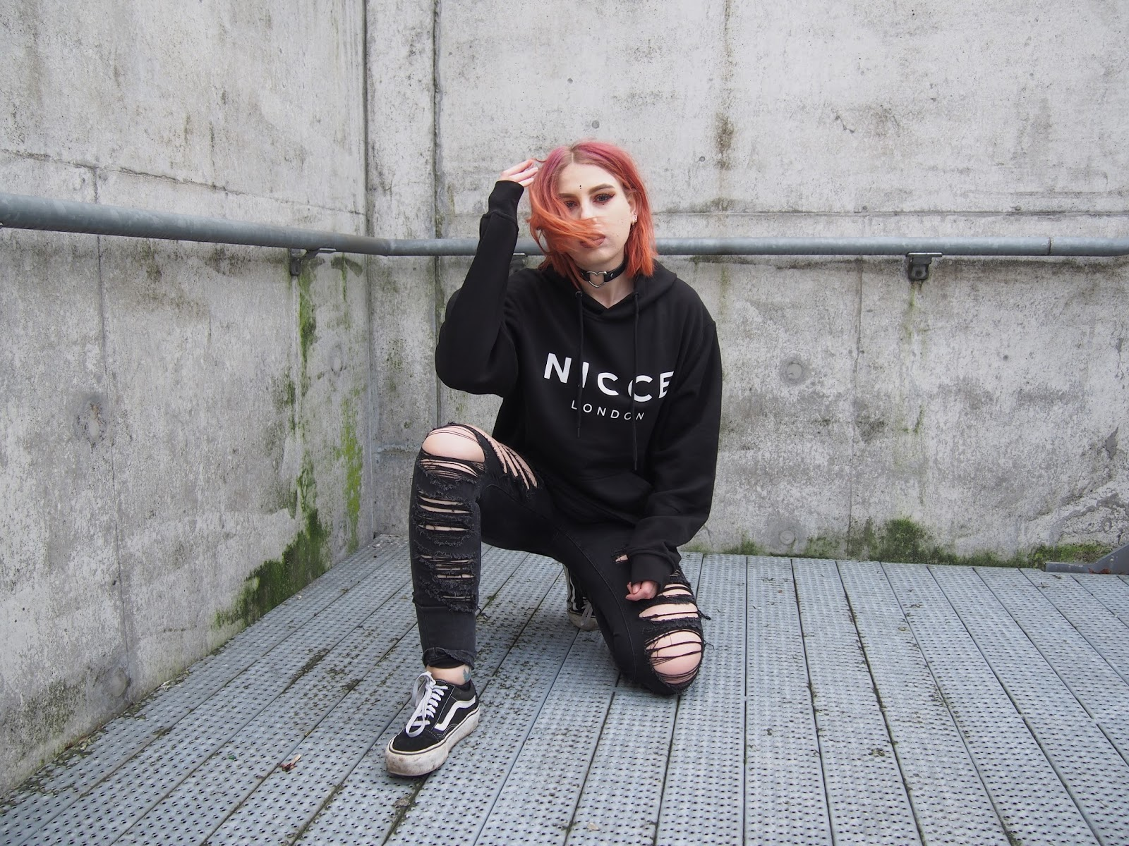 aa6c81a169 A Comfy Outfit For A Chill Sunday.  Black Hoodie - Nicce