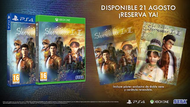 SEGA anuncia Shenmue™ I & II para PS4, Xbox One y PC