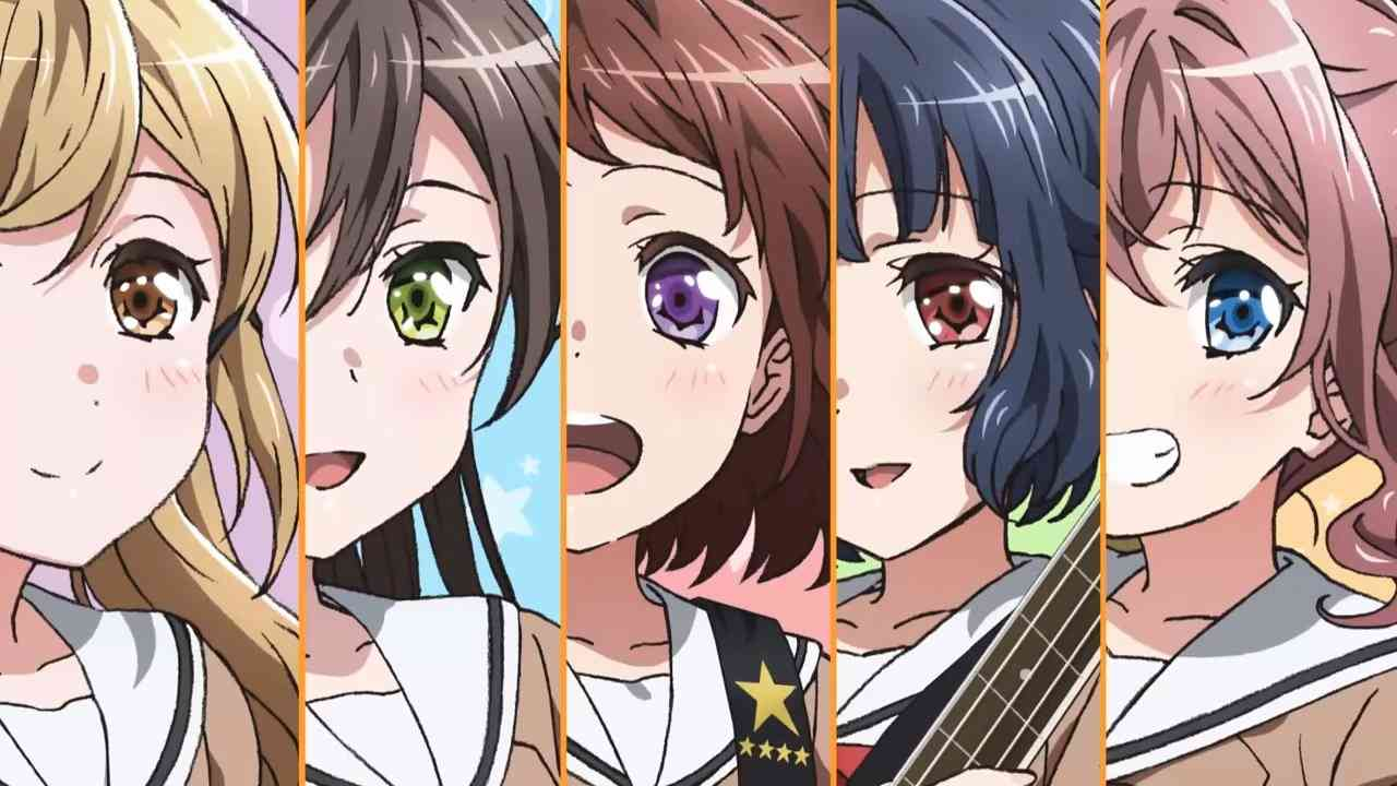 The BanG Dream! Presents its opening in a new video