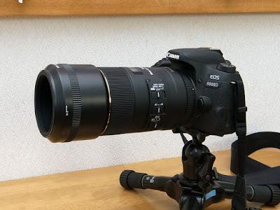SIGMA MACRO 105mm F2.8 EX DG OS HSM + HA680-01 + LH680-03