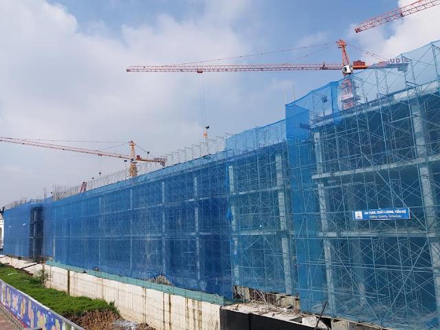 Tiến độ xây dựng chung cư UDIC Westlake Võ Chí Công